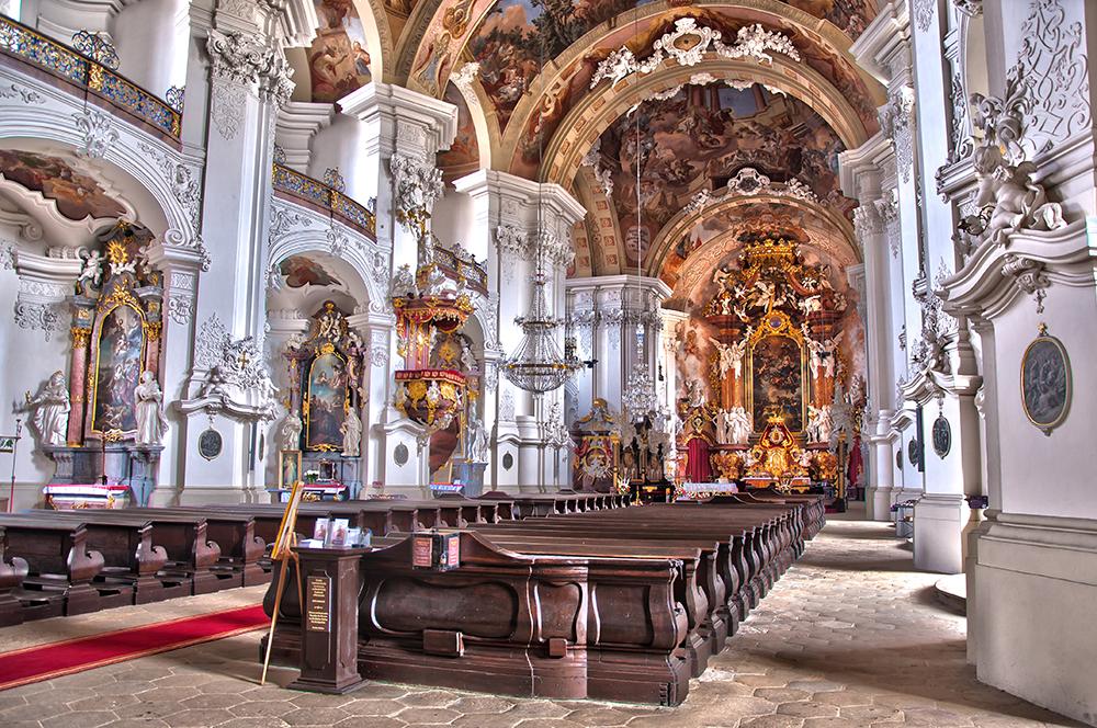 Wnętrze Bazyliki Mniejszej