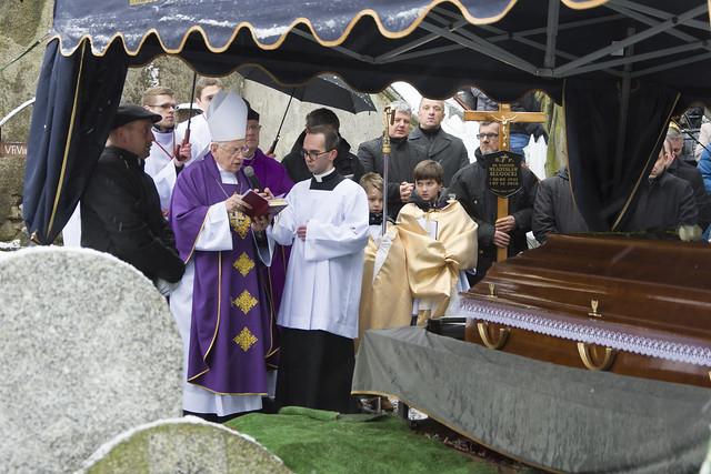 Pogrzeb Ks. Władysława Sługockiego