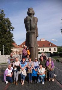 Wilno - pomnik Adama Mickiewicza