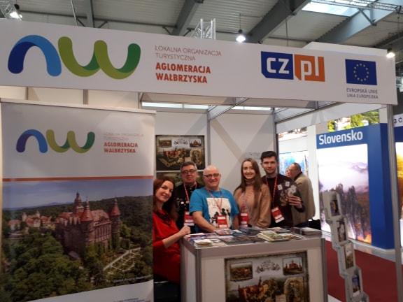 Krzeszów na targach turystycznych w Pradze