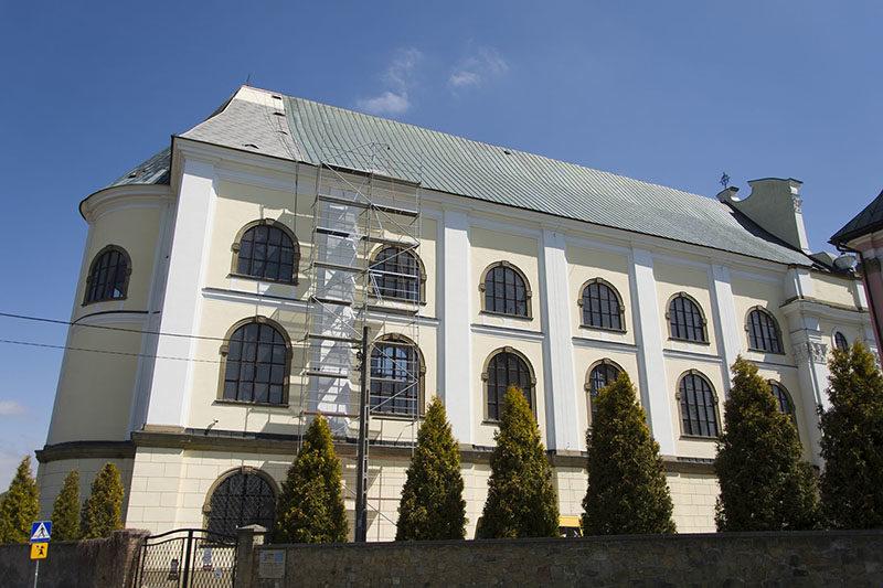 Remont dachu św. Józef