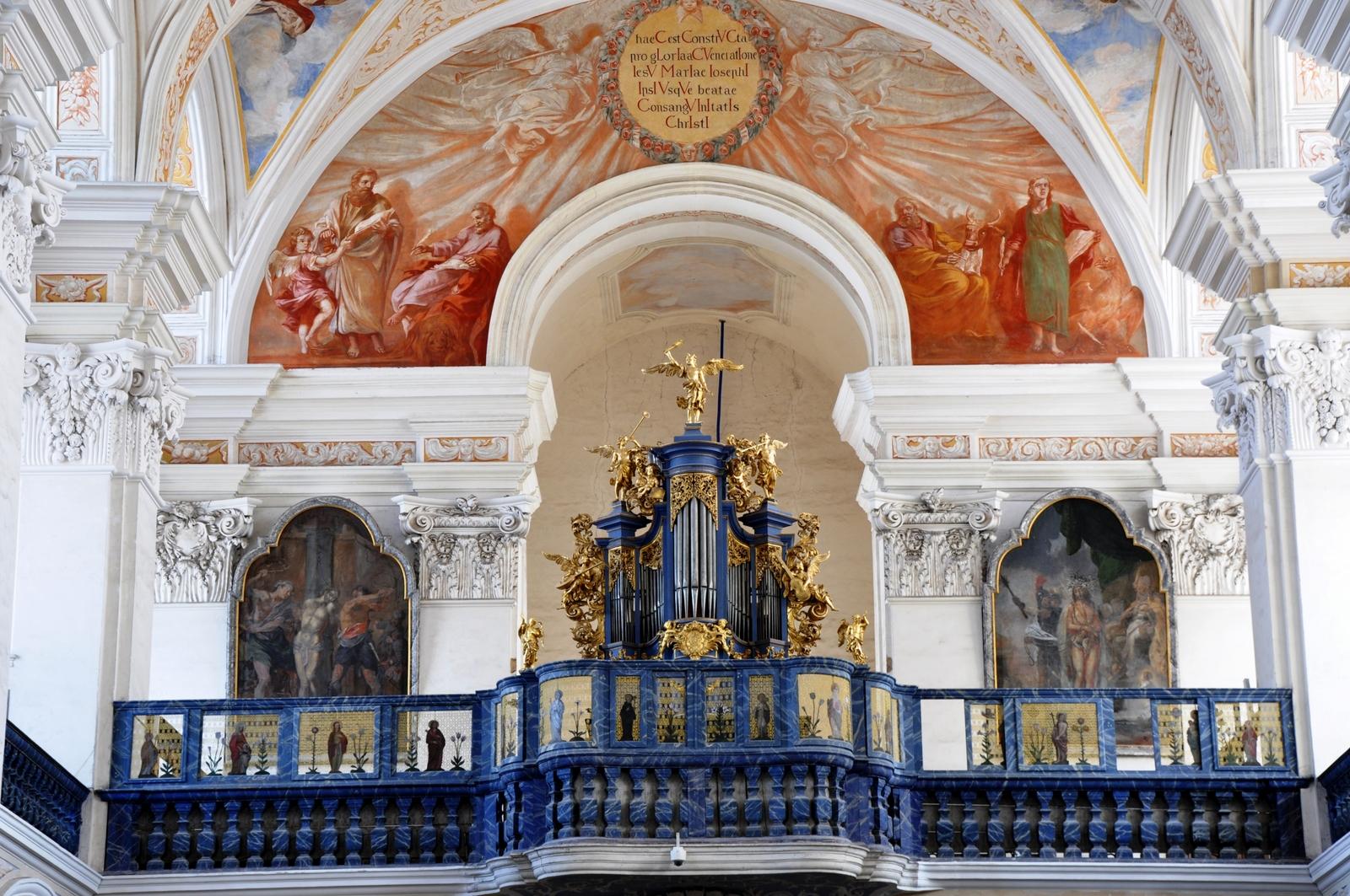 Empora organowa w kościele p.w. św. Józefa