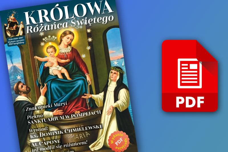 """KRÓLOWĄ RÓŻAŃCA"""" – POBIERZ DARMOWY PDF"""