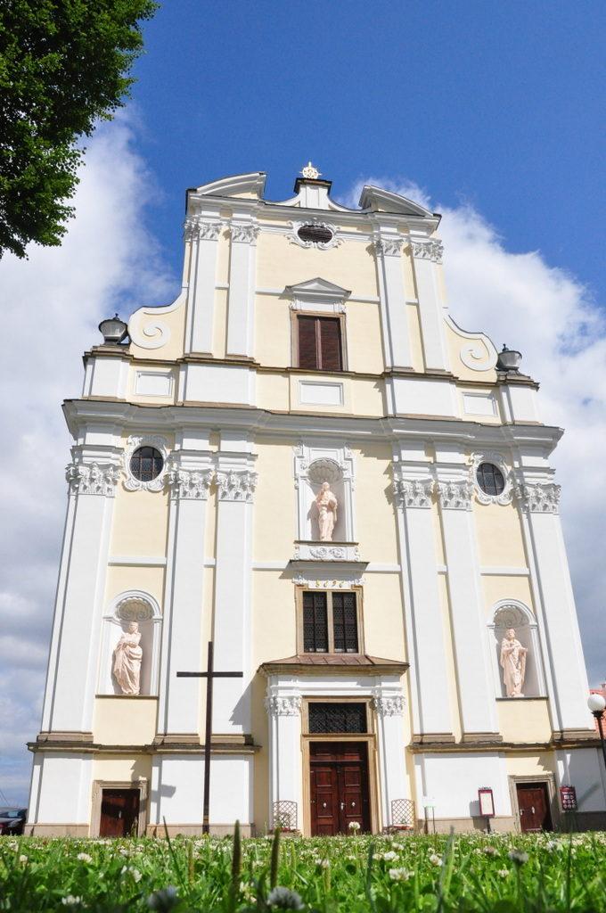 kościół pw sw jozefa - fasada