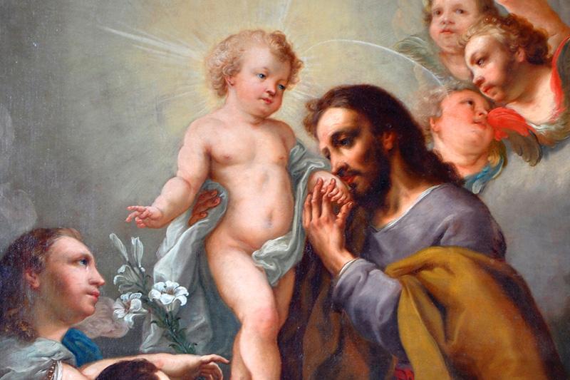 Pocałunek św. Józefa