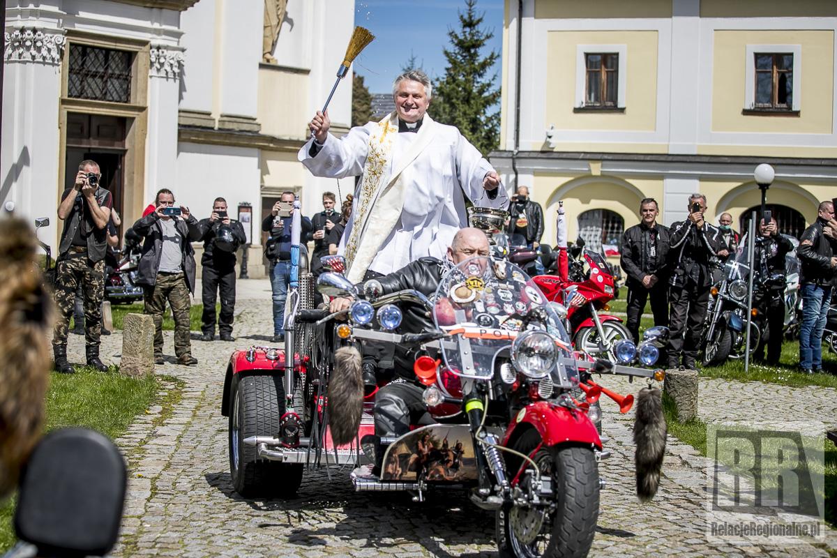 Święcenie motocykli