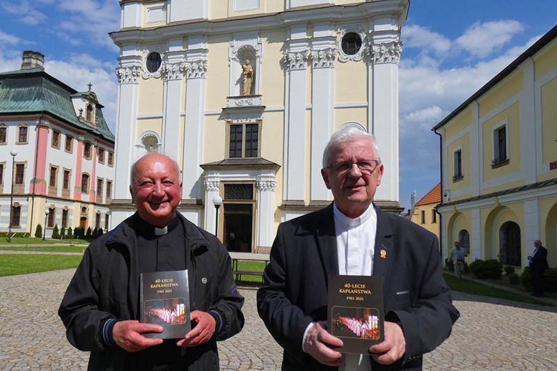 ks. Marian Kopko i ks. Tadeusz Rusnak