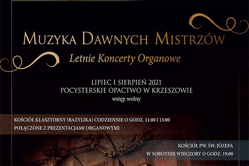 Letnie koncerty organowe 2021